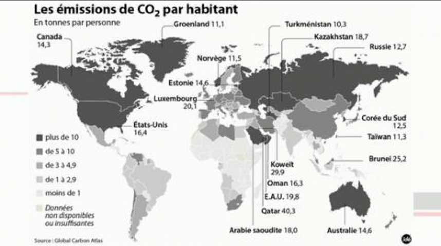 Illustration pour la vidéo Climat : tout change, et rien ne change