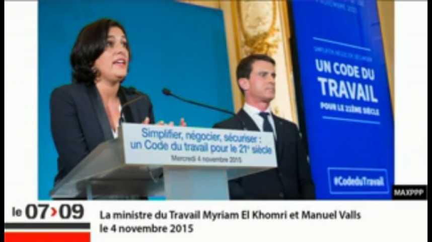 Illustration pour la vidéo Valls, les 35 heures et l'aveu