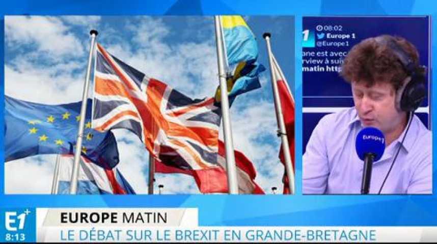 Illustration pour la vidéo Brexit : la Banque d'Angleterre se prononce contre