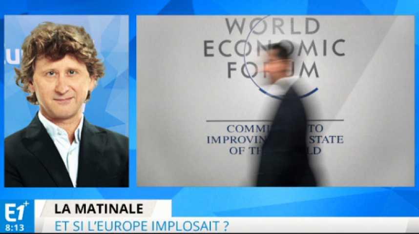 Illustration pour la vidéo Forum de Davos : et si l'Europe implosait ?