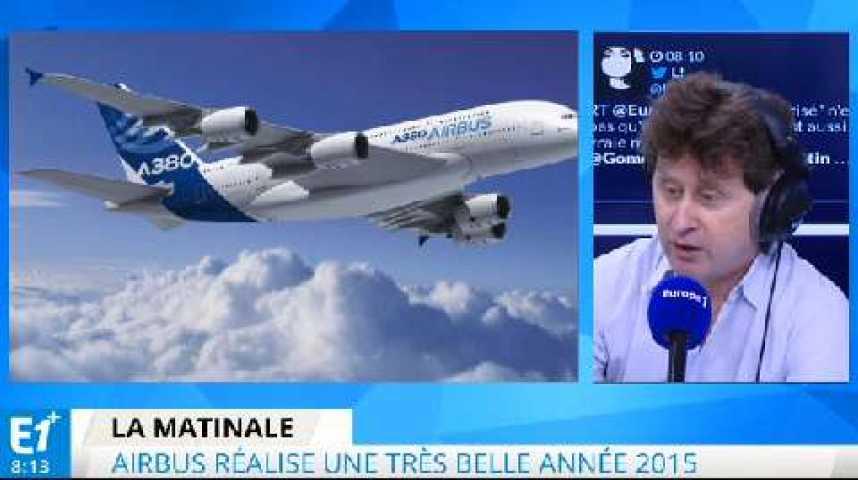 Illustration pour la vidéo Airbus : une bonne année 2015 mais peu de commandes pour l'A380