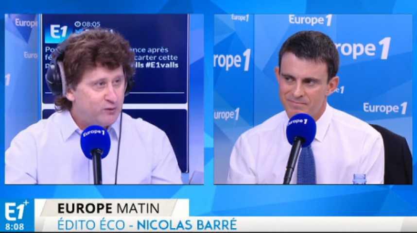 Illustration pour la vidéo Cambadélis contre Macron : Manuel Valls doit prendre position
