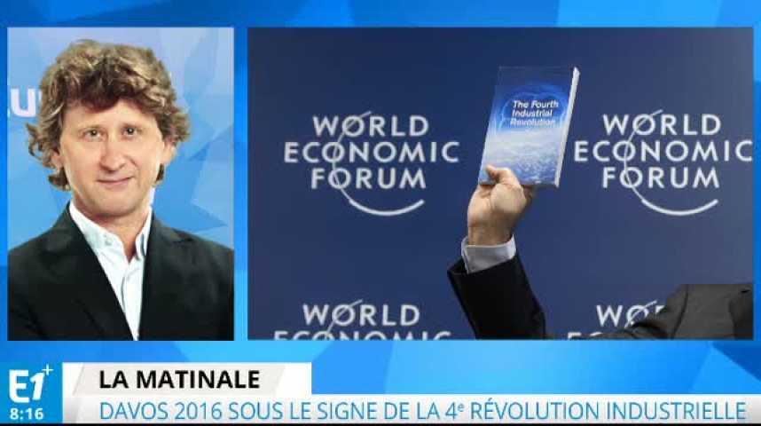 Illustration pour la vidéo Davos sous le signe du numérique