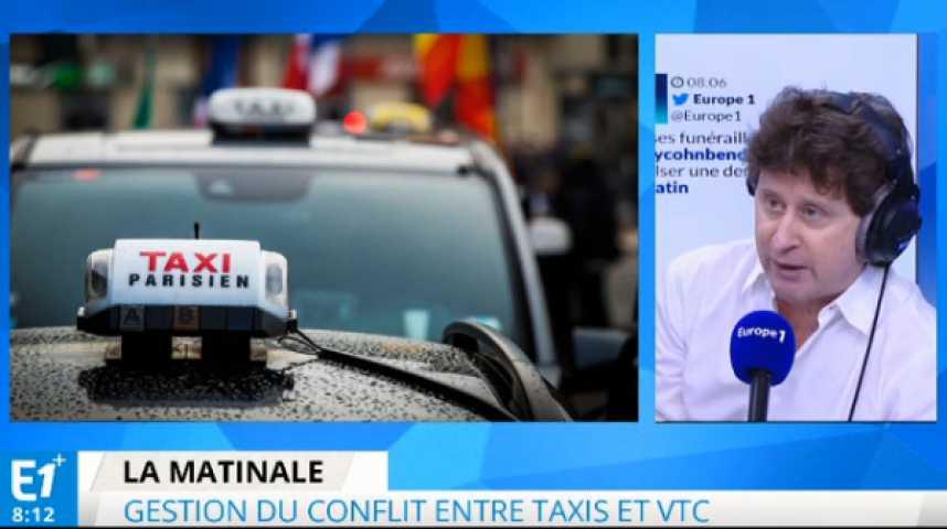 Illustration pour la vidéo Taxis contre VTC : l'erreur de Manuel Valls