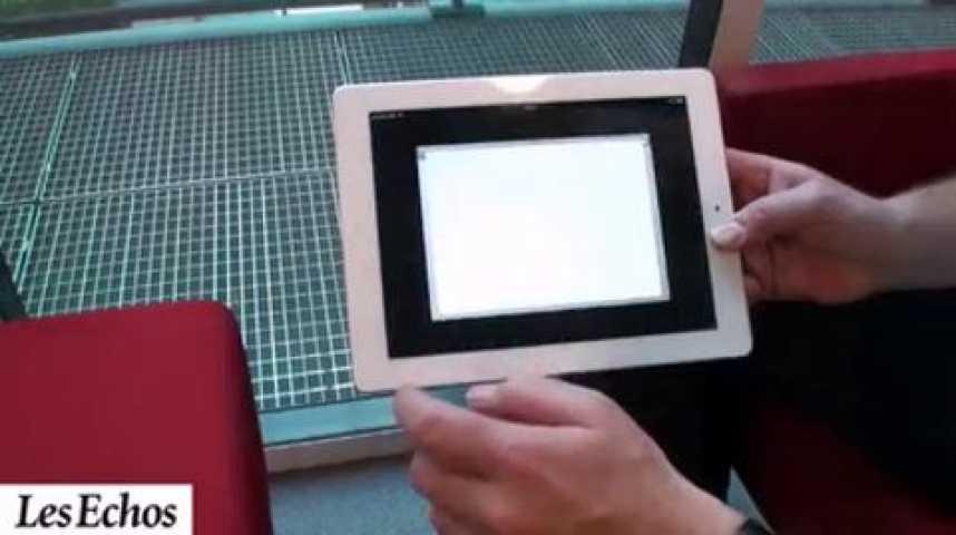 Illustration pour la vidéo L'iPad 2