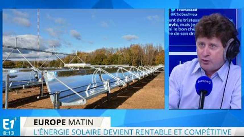 Illustration pour la vidéo Un jour on fabriquera de l'énergie solaire pratiquement gratuitement