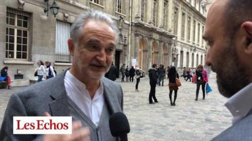 """Illustration pour la vidéo Jacques Attali : """"L'audace, c'est le courage des imbéciles"""""""