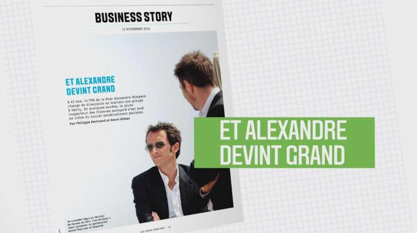 Illustration pour la vidéo Les Echos Week-End : Et Alexandre devint grand !