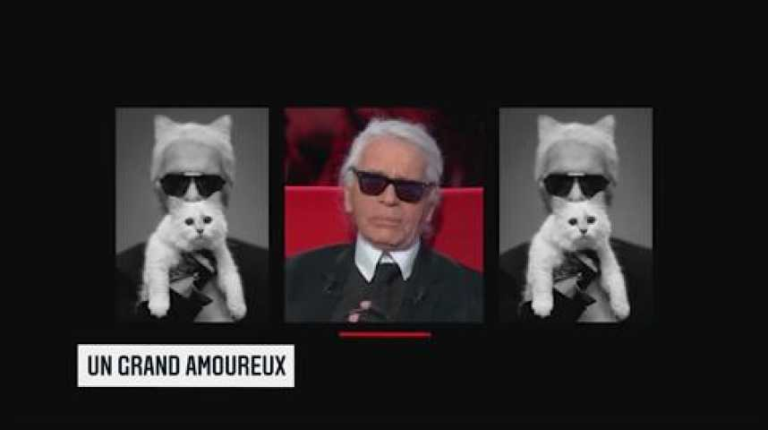 Illustration pour la vidéo Les Echos Week-End : Karl Lagerfeld, l'inoxydable !