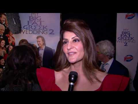 Nia Vardalos Chats At 'My Big Fat Greek Wedding 2' Premiere