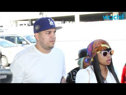 Blac Chyna Helping Rob Kardashain Lose The Weight.