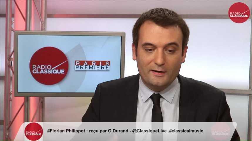 """Illustration pour la vidéo """"Le Pen s'est adressée hier aux banlieues, qui font aussi partie de la République"""" Florian Philippot (16/11/2016)"""