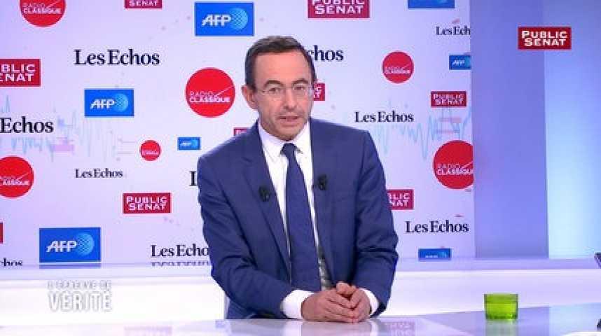 Illustration pour la vidéo «François Fillon sera la surprise de la primaire», affirme Bruno Retailleau