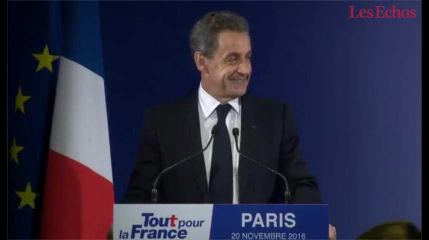 """Illustration pour la vidéo Après sa défaite, Sarkozy veut """"aborder une vie avec plus de passion privée, et moins de passion publique"""""""