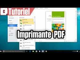 Tuto Windows 10 : convertir n'importe quel fichier en PDF