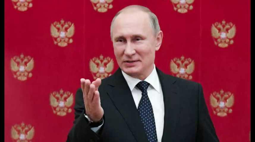 Illustration pour la vidéo Quand Vladimir Poutine vante les qualités de... François Fillon