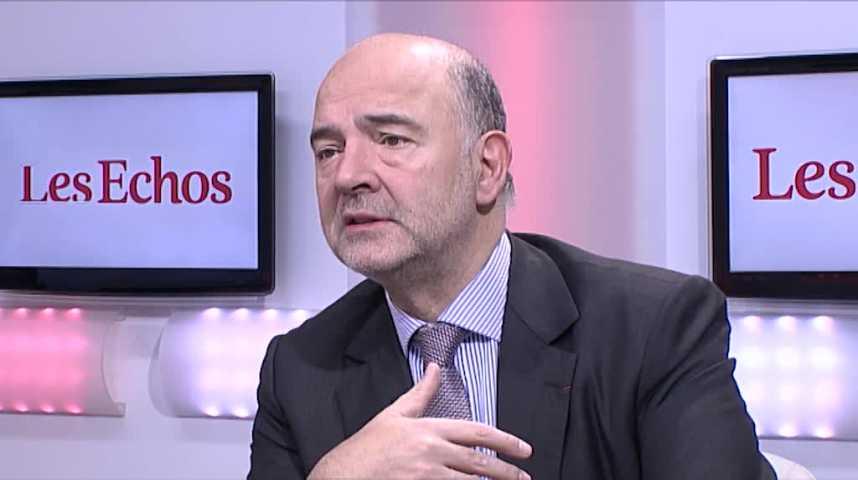 """Illustration pour la vidéo Pierre Moscovici : """"Marine Le Pen dans les 30 à 40% serait un choc terrible"""""""