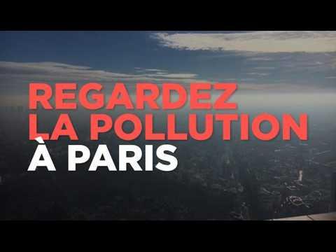 Regardez le pic de pollution à Paris depuis la tour Montparnasse