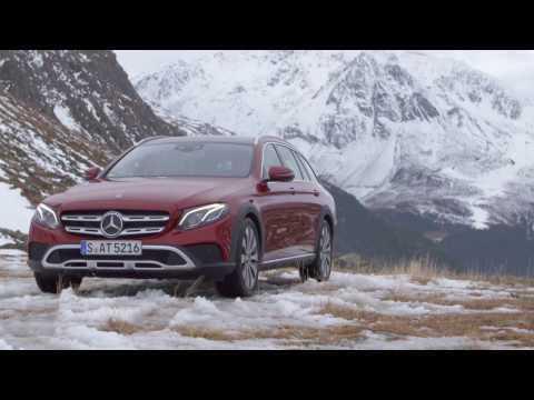 Mercedes-Benz E 220 d All-Terrain - Driving Video in Hyacinth Red Metallic Trailer | AutoMotoTV