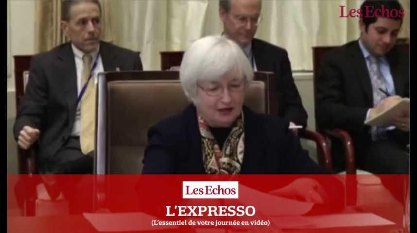 Illustration pour la vidéo Fed : Janet Yellen devra convaincre le Congrès, après l'élection de Donald Trump