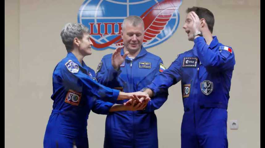 Illustration pour la vidéo Thomas Pesquet, prêt au décollage vers l'ISS