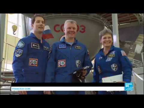 Space: All eyes on French astronaut Thomas Pesquet, set to join space station