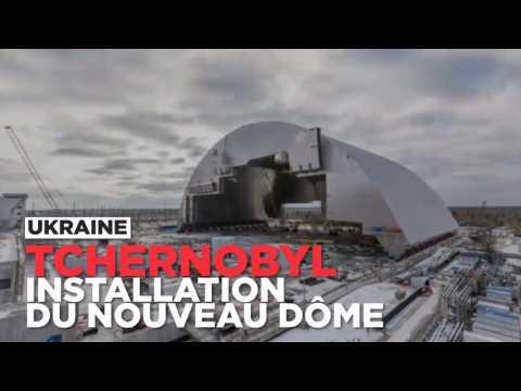 Comment le nouveau dôme de Tchernobyl a été installé