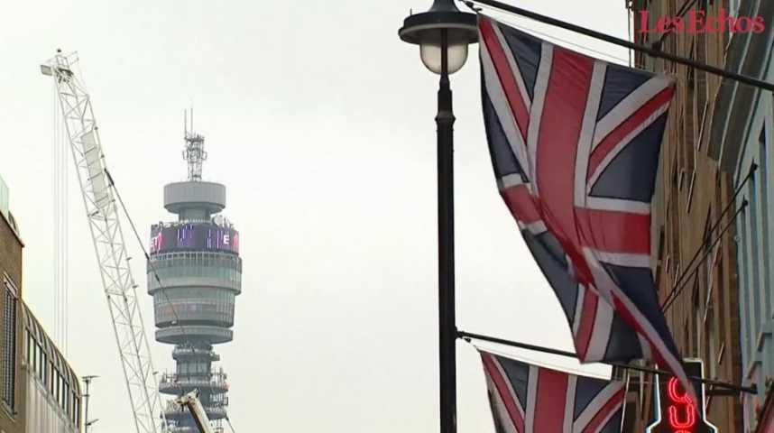 Illustration pour la vidéo La richesse britannique aurait fondu de 1.400 milliards d'euros après le Brexit