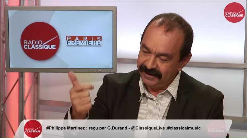 """Illustration pour la vidéo """"Le dialogue social n'existe plus, il n'y a qu'un monologue social"""" Philippe Martinez (25/11/2016)"""