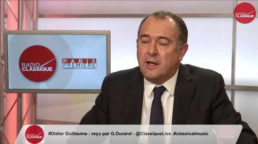 """Illustration pour la vidéo """"Manuel Valls assumera le bilan de ce quinquennat"""" Didier Guillaume (30/11/2016)"""