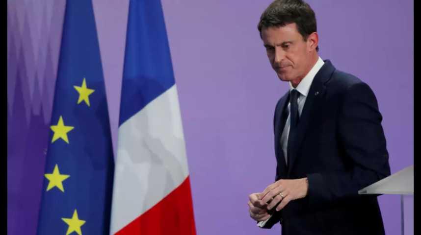 Illustration pour la vidéo Primaire à gauche : Valls candidat dès aujourd'hui ?