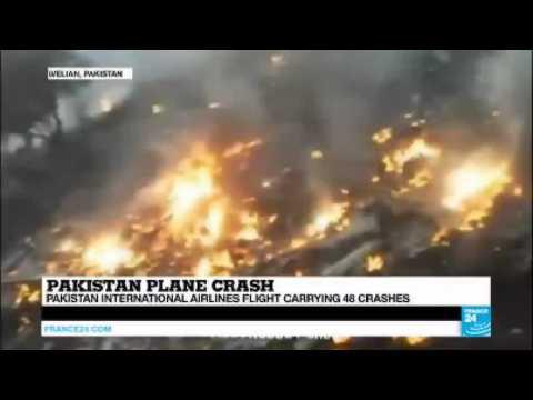 Pakistan International Airlines flight carrying 48 crashes, including famed singer Junaid Jamshed