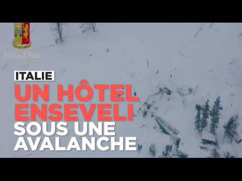 Italie : un hôtel enseveli sous une avalanche