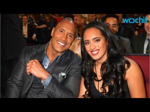 Dwayne Johnson & Simone Johnson Attended Peoples Choice Awards