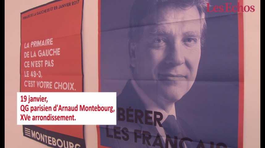 """Illustration pour la vidéo Les petites mains de la présidentielle : """"l'armée de militants"""" d'Arnaud Montebourg"""
