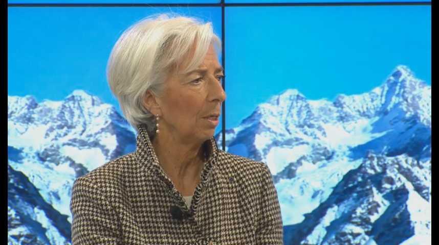 Illustration pour la vidéo Davos 2017 : comment répondre à la montée du populisme ? (avec Christine Lagarde, directrice du FMI)
