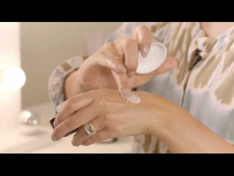 Simple evening skincare routine for mature skin