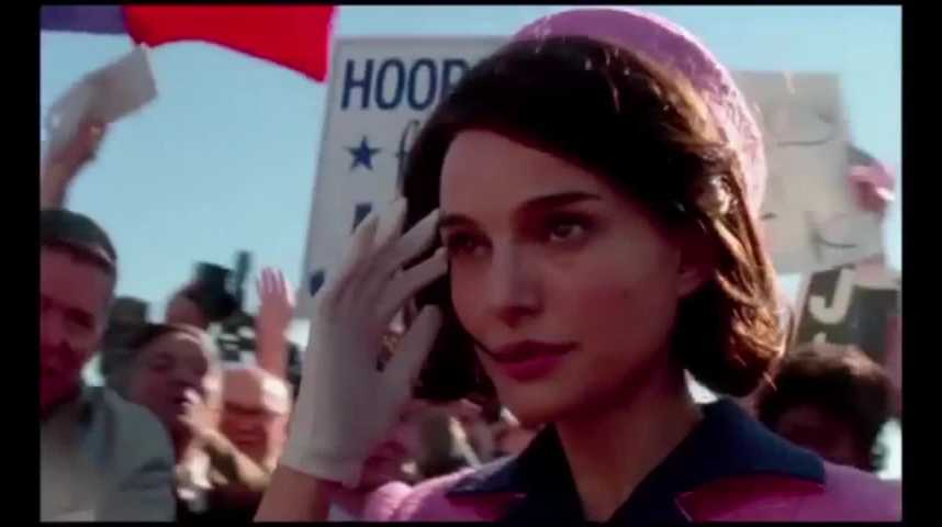 """Illustration pour la vidéo Natalie Portman, bouleversante """"Jackie"""", au cinéma cette semaine"""