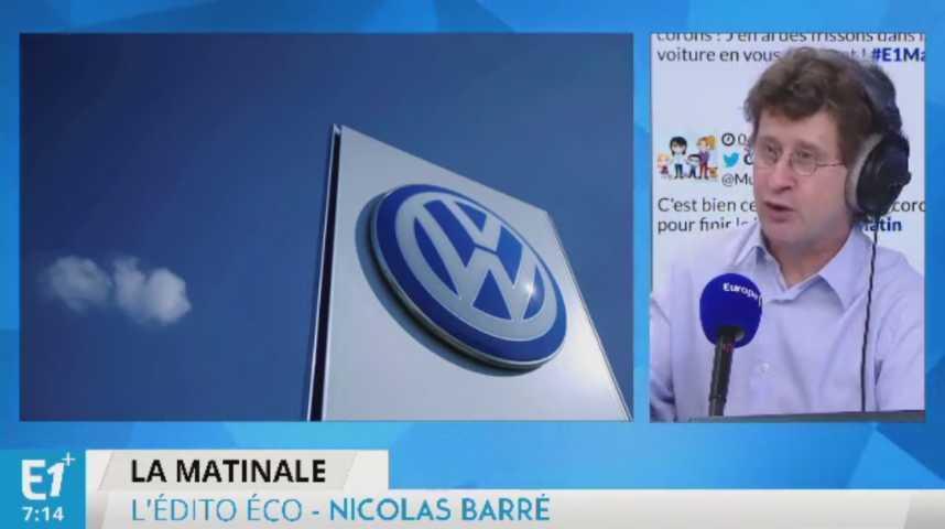 Illustration pour la vidéo Volkswagen est devenu numéro 1 mondial de l'automobile