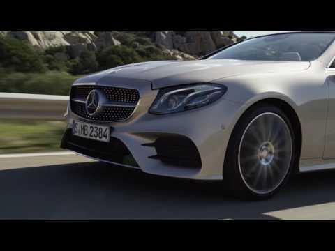 Mercedes-Benz E-Class Cabriolet AMG Line - Driving Video Trailer | AutoMotoTV