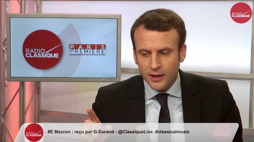 Illustration pour la vidéo « Je ne regrette aucun de mes dires à propos de la colonisation » Emmanuel Macron Partie 1 (17/02/2017)
