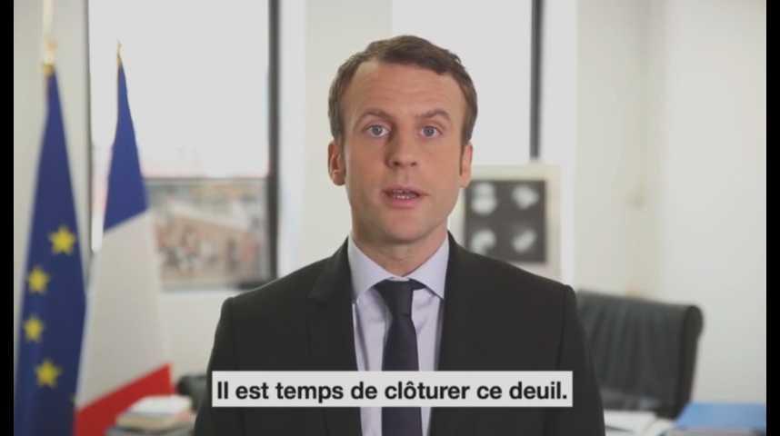 Illustration pour la vidéo Emmanuel Macron tente de désamorcer la polémique après ses propos sur la colonisation