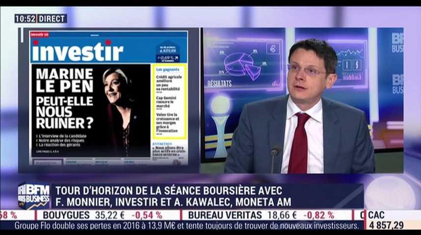 Illustration pour la vidéo Marine Le Pen peut-elle nous ruiner ? (1/2)