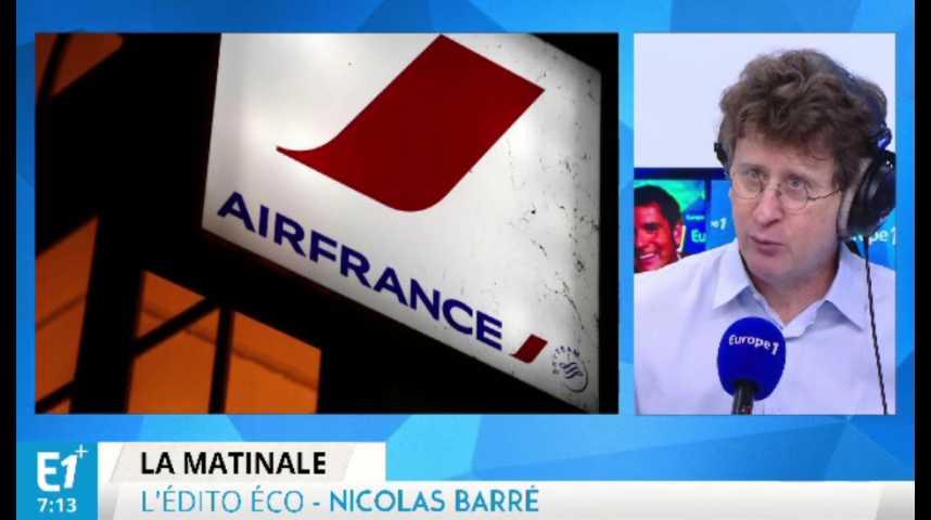 """Illustration pour la vidéo Création d'une filiale """"low cost"""" : la révolution est en marche chez Air France"""