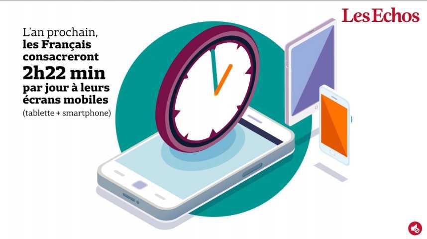 Illustration pour la vidéo Comment les écrans mobiles sont devenus une manne pour tout un écosystème