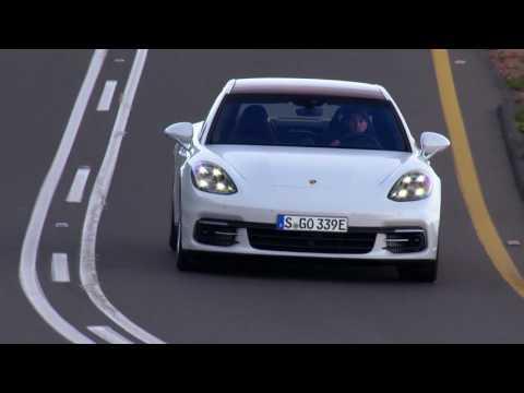 Porsche Panamera 4 E-Hybrid Executive - Carrara White Driving Video Trailer | AutoMotoTV