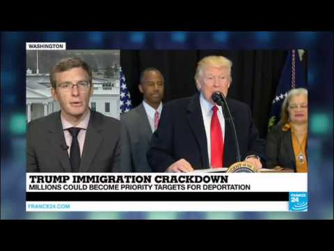 US - President Trump takes step to boost deportation, millions could become priority targets
