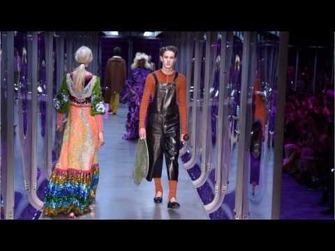 Gucci's Magic Garden Kick Off Milan Fashion Week