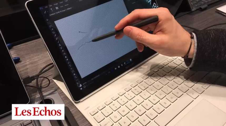 Illustration pour la vidéo Mobile World Congress : test de la Samsung Tab S3