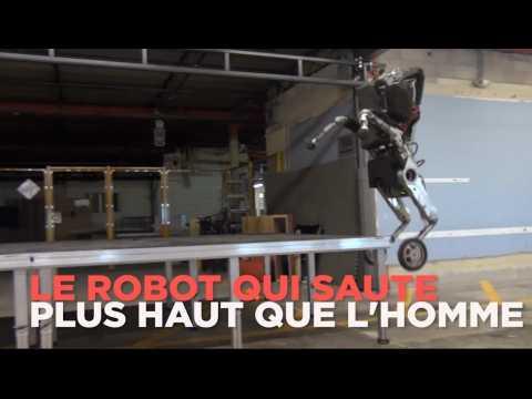 Le robot qui défie les lois de la gravité